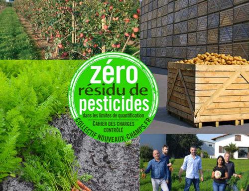 Le label 'Zéro Résidu de Pesticides' fédère dorénavant plusieurs filières végétales